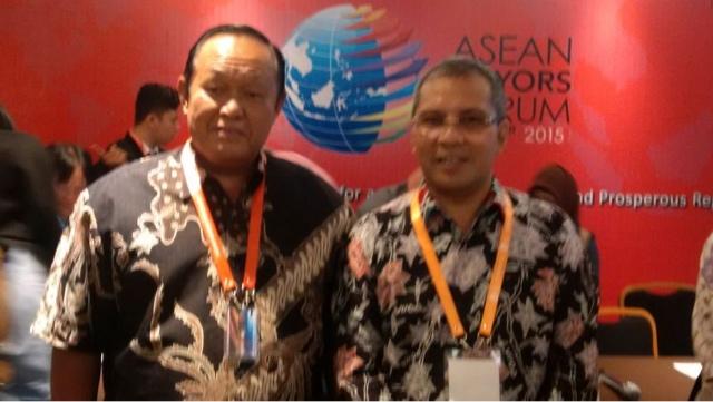 Hadiri 2nd AMF di Makasar, Wawalikota Suyitno : Ajang Berbagi Pengalaman Membangun Kota