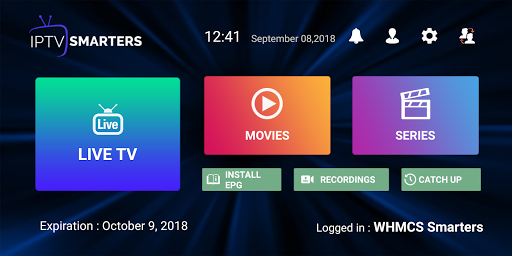 IPTV Smarters Pro 1.6.9 screenshots 1