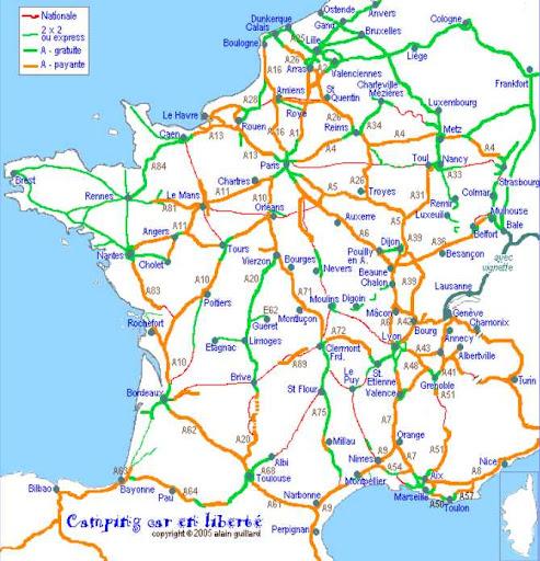 Autopista Central En Francia Y Casi Gratis Archivo Ac Pasion