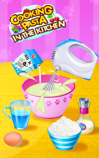 Download Cooking Pasta In Kitchen APK on PC