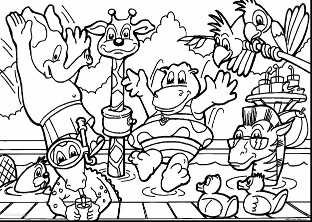 Magnificent Zoo Animals Coloring Pages With Baby Animals Coloring Pages And Baby  Animals Coloring Pages
