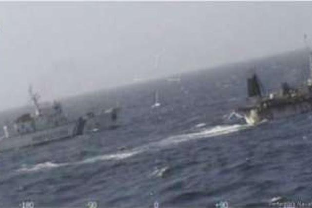 Penjaga Pantai Argentina Tenggelamkan Kapal Nelayan China