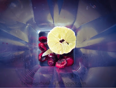 Homemade Cherry-Lemon Stevia Soda