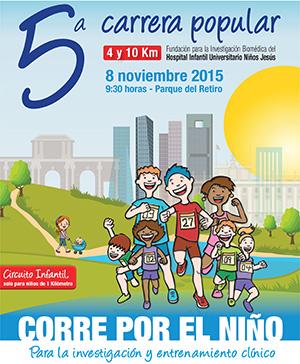 5ª carrera popular 'Corre por el niño' para la investigación y entrenamiento clínico