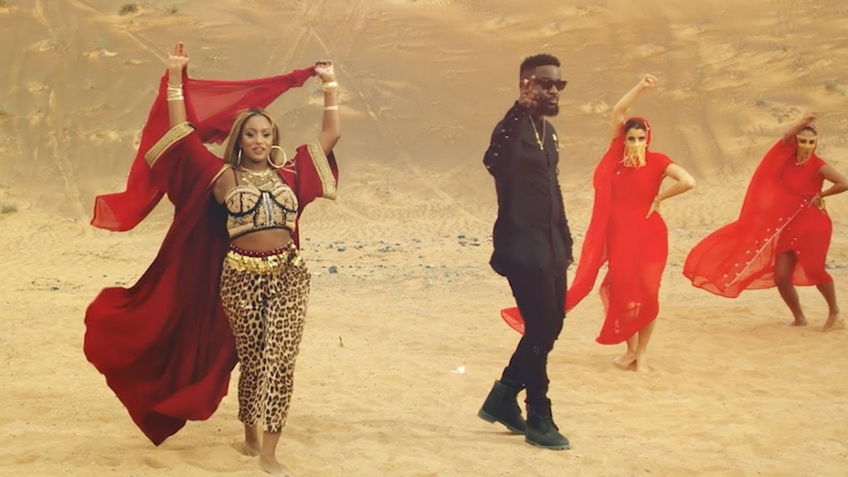 Dj cuppy vybe ft sarkodie video audio