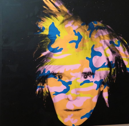 andy warhol_self portrait 2
