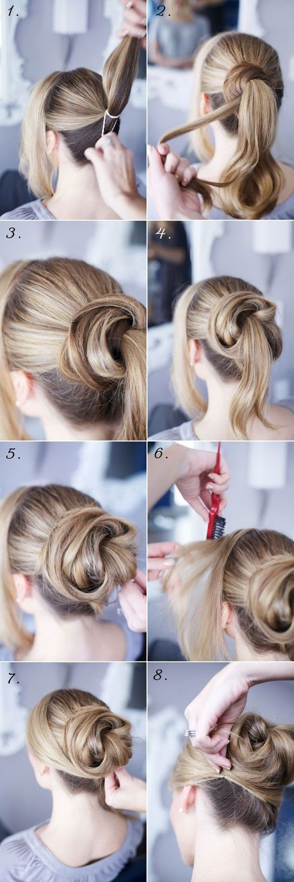 + 25 easy hairstyles 2018-2019 step by step 3