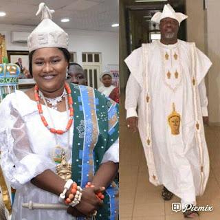 Aare Yeye Oge of Yoruba Land wishes  Sen Dino Melaye more prosperous Years..