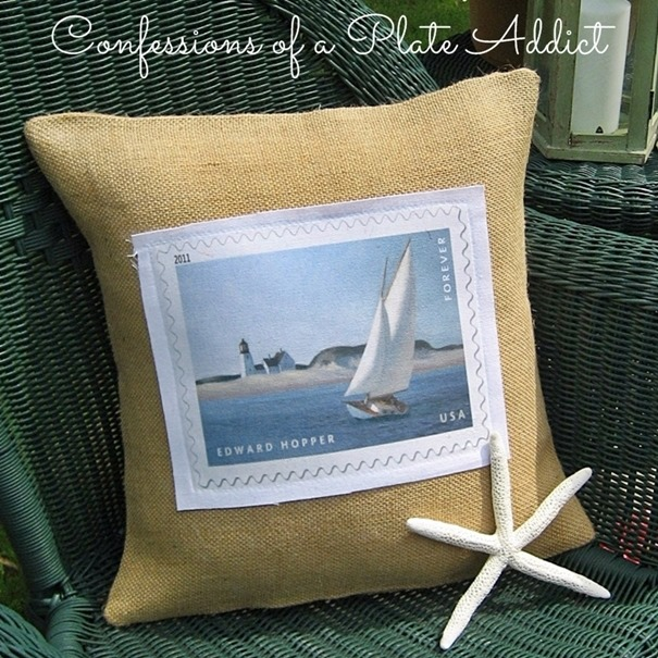 [CONFESSIONS+OF+A+PLATE+ADDICT+Burlap+and+Canvas+Sailboat+Pillow2%5B5%5D]