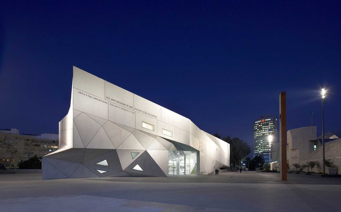 Tel Aviv, Israele: Tel Aviv Museum of Art by Preston Scott Cohen