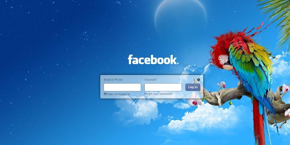 كيف تقوم بتغير خلفية تسجيل الدخول الى الفيسبوك الحل S
