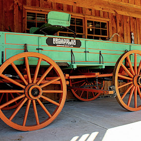 Whiskey Wagon by Kevin Hill - Transportation Other ( wooden, whiskey, wagon wheel, wagon, whisky,  )