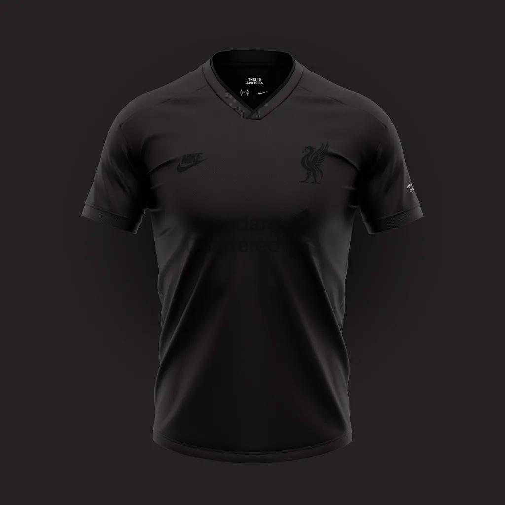 Desain konsep jersey liverpool ketiga untuk menandingin jersey Liverpool dari Nike