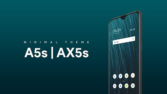 Theme For Oppo A5s & AX5 + Iconpack & HD Wallpaper Screenshot