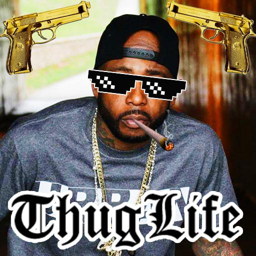 Thug Life Sticker Editor