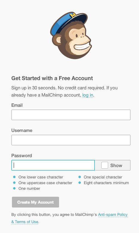 登録時はパスワードに注意
