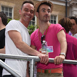 OIC - ENTSIMAGES.COM - Daniel Brocklebank and Joe McFadden at the Pride in London Parade  27th June 2015 Photo Mobis Photos/OIC 0203 174 1069