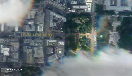 Image result for black lives matter plaza from space