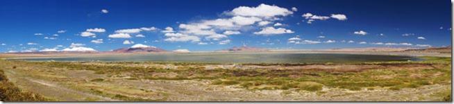 Salar de Tara no Atacama - Panorâmica