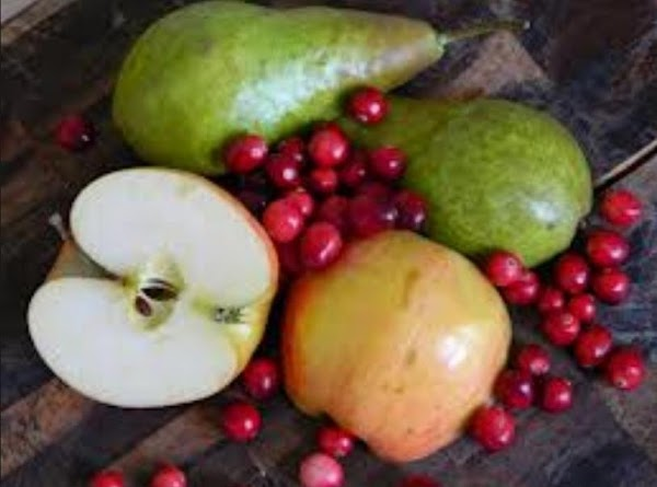 Cranberry, Apple And Pear Pie Recipe