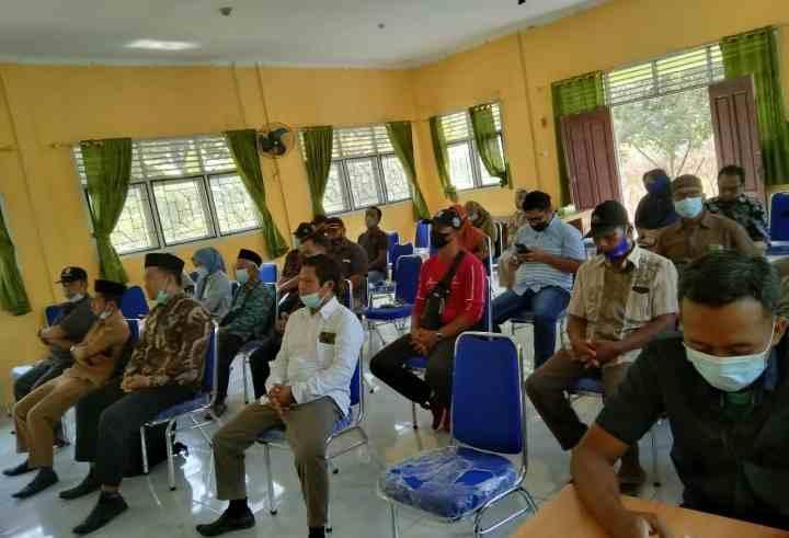 Pembentukan Panitia Pilkades Desa Hangtuah tahun 2021, Dipimpin Langsung Oleh Ketua BPD Desa Hangtuah dan Jajarannya.