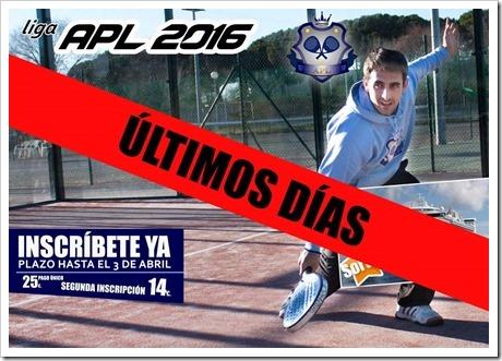 Inscríbete a la Liga amateur de pádel del corredor del Henares