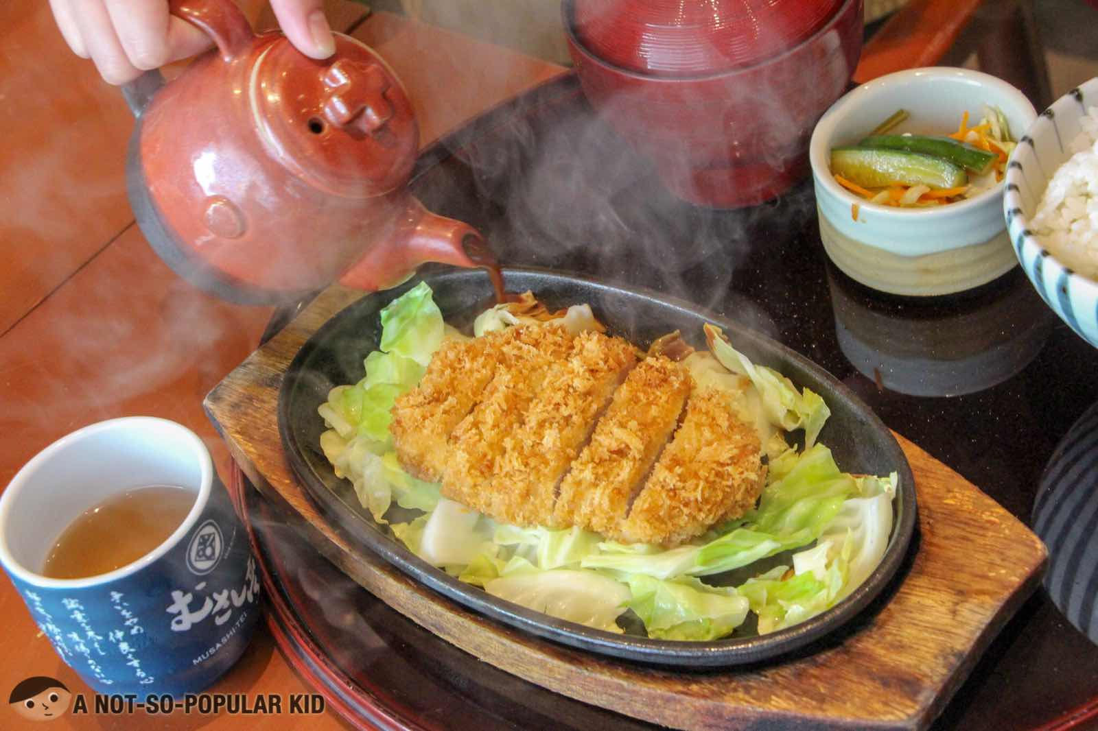 Washoku Musashi-Tei's Authentic Japanese Dining in BGC