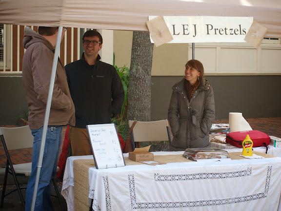 LEJ Pretzels at Haile Farmers' Market