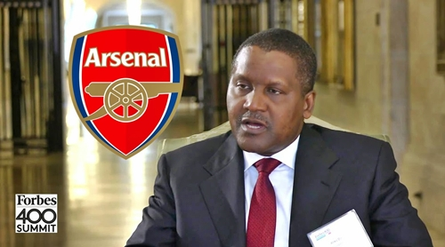 The First Thing I Will Do When I Buy Arsenal Is To Fire Wenger' – Aliko Dangote
