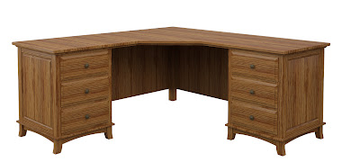Rochester L-Shaped Desk