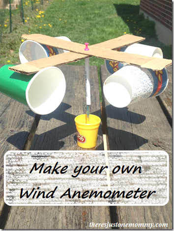 science project anemometer