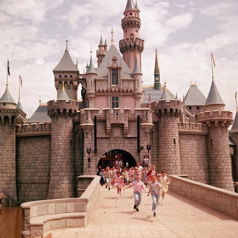 Fotografías de la apertura de Disneyland en 1955