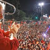 Lula participa de ato pela democracia em São Paulo
