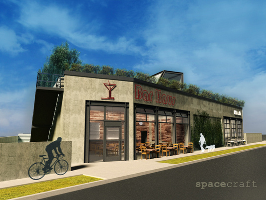 Glendale Boulevard View Of New Building Concept Courtesy Spacecraft Group