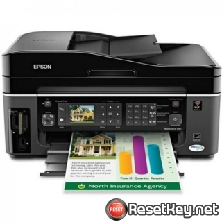 Reset Epson WorkForce 323 printer Waste Ink Pads Counter