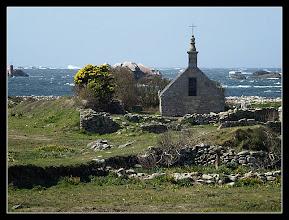 Photo: 27/03 dans l'après-midi, la chapelle Saint Corentin