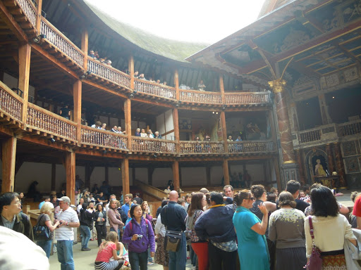 Seeing a play at the Globe Theatre. From Best Museums in London and Beyond