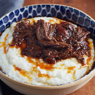 Braised Beef Short Ribs with Manchego Grits