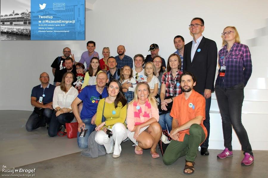 Trójmiejscy użytkownicy Twittera w Muzeum Emigracji w Gdyni