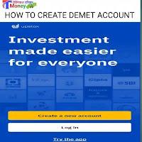 Upstox me Demet & trading account kaise open kre