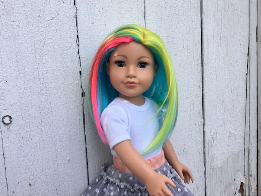 Introducing Spectrum! Another OOAK Doll In The Doll House!