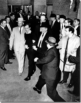 Jack Ruby takes out Oswald