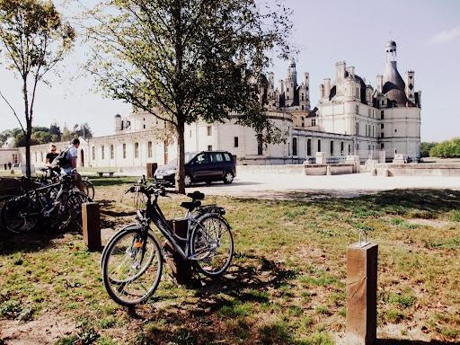 シャンボール城へサイクリング