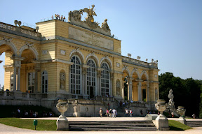 Close up on the Gloriette, Schonbrunn