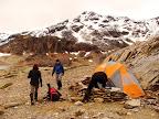 Campamento en la Laguna Submarino Cruce de Tierra del Fuego Trekking Desde Estancia Carmen al Lago Fagnano, y desde la Sierra Valdivieso al Canal Beagle! 7 dias de Trekking intenso.