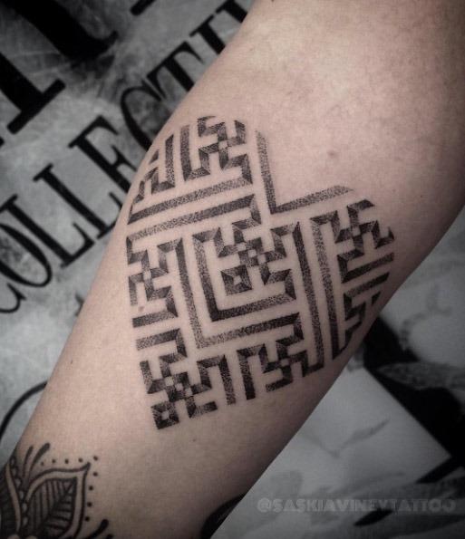 este_sayagata_coraço_de_tatuagem