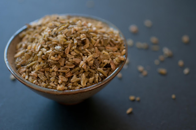 freekeh, green wheat