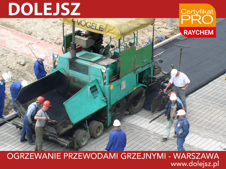 Ogrzewanie podjazdów Warszawa