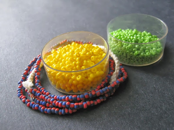 Primary Palette with Trade Beads