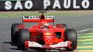 Michael Schumacher Ferrari F2001 Brazil